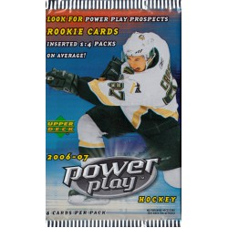 UPPER DECK POWER PLAY 2006/2007 KAARDIPAKK